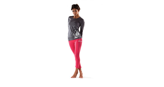 Mons Royale Women Original Long Sleeve gun metal